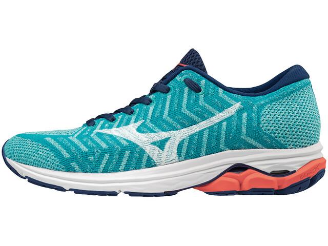 Mizuno Waveknit R2 Løbesko Damer blå (2019) | Running shoes